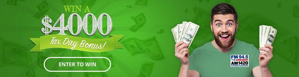 Tax Day Sweepstakes   Omaha, Nebraska