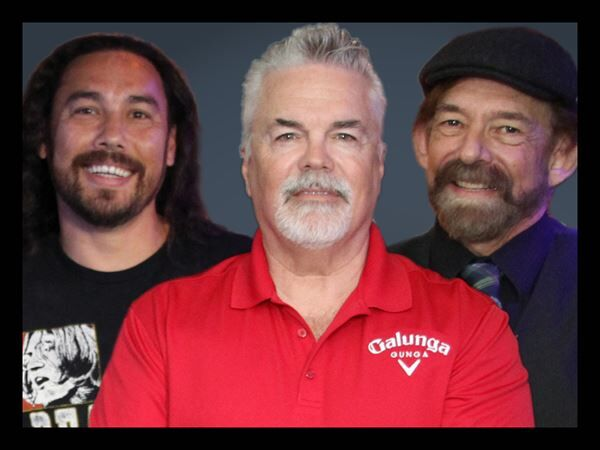Jeff, Mark and Jimi
