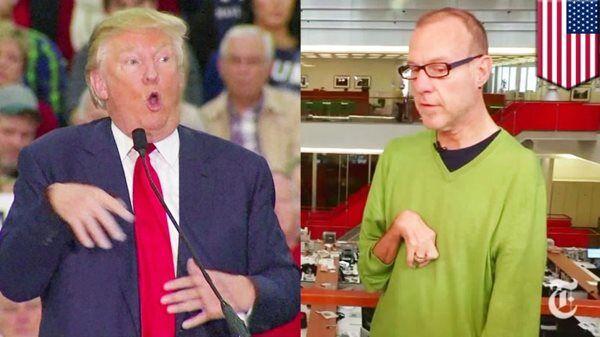 """Image result for trump mocks disabled"""""""