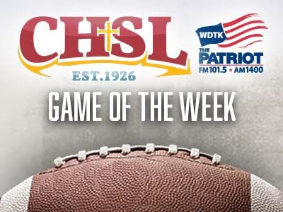 CHSL Football Game of the Week