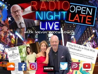 'Radio Night Live' with Kevin McCullough & Eileen Fisher