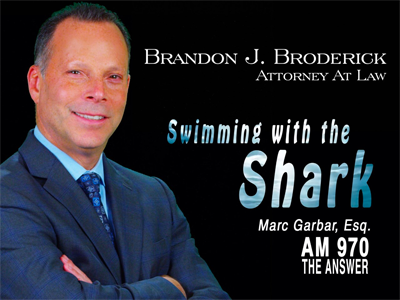 Swimming with the Shark, featuring Marc Garbar, Esq. and Kevin McCullough