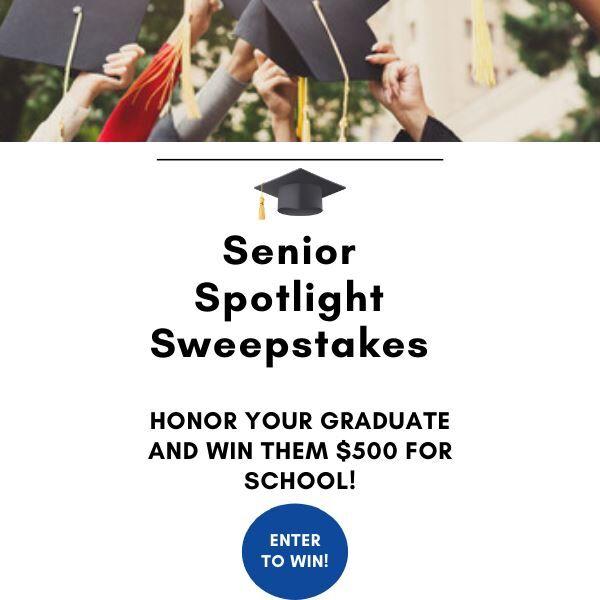 Senior Spotlight Sweepstakes