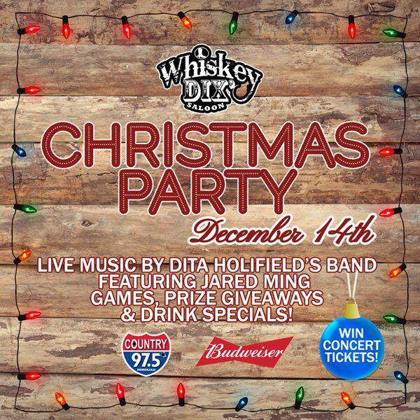 Whiskey Dix Xmas Party!