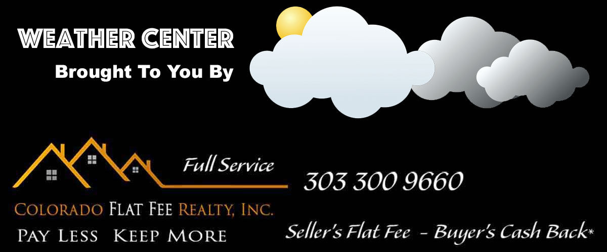 Weather Center Brought To By Colorado Flat Fee Realty