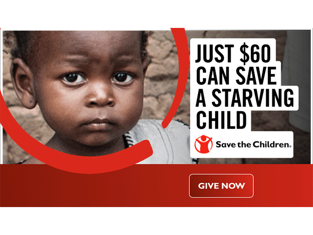 Save the Children - Donate now!
