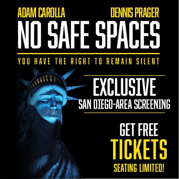 Free Tickets to Dennis Prager and Adam Carolla Movie in San Diego!