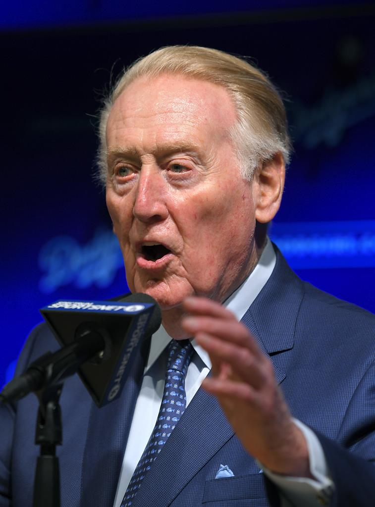 Vin Scully Ring Of Honor Video