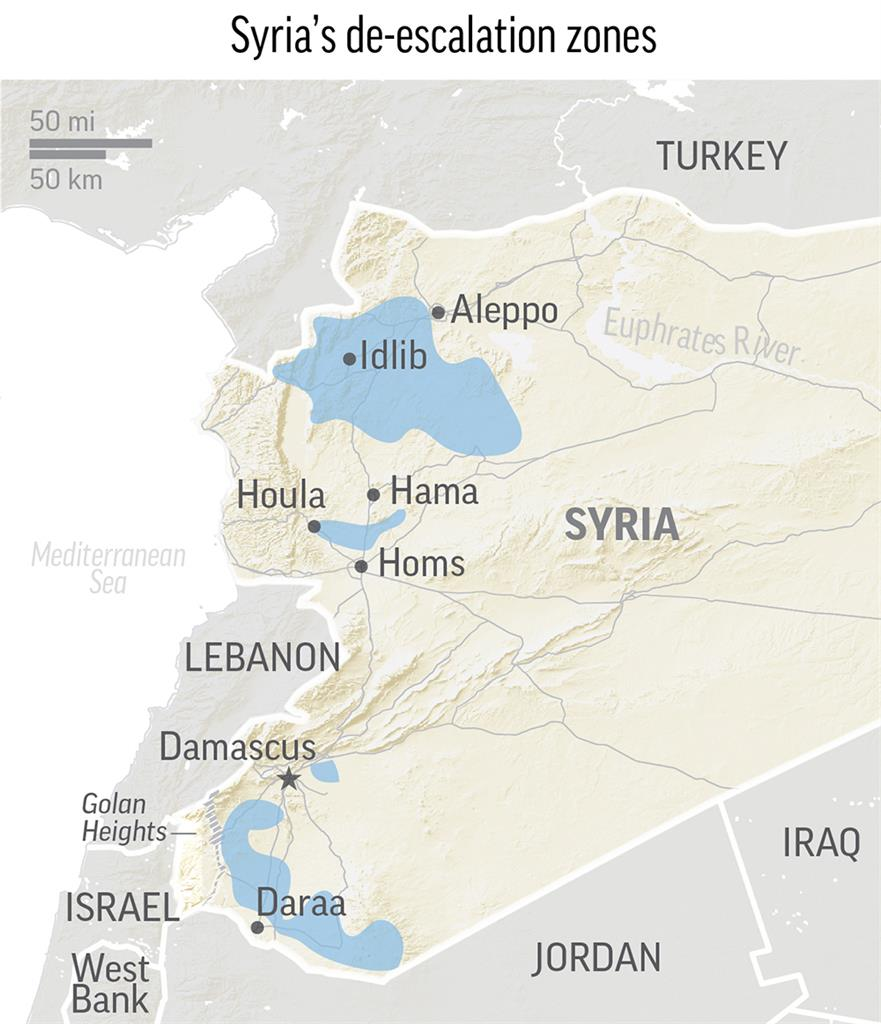 Mattis Us Reviewing Syria Safe Zones But Has Many Questions Am