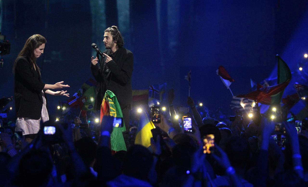 Ballad beats glitz as Portugal's Sobral wins Eurovision
