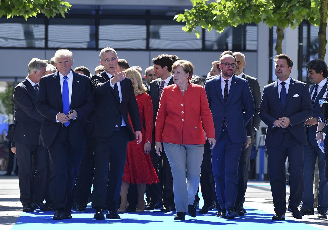 Slikovni rezultat za nato summit in bruxelles
