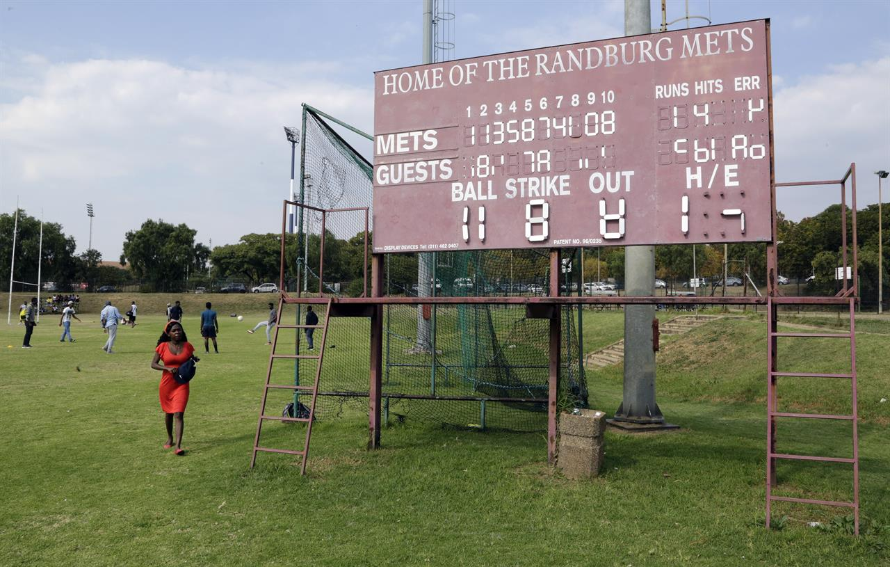 in a baseball backwater ngoepe found a field and a dream