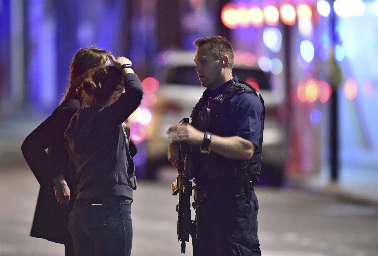 terror attack on london bridge leaves 6 dead  police shoot