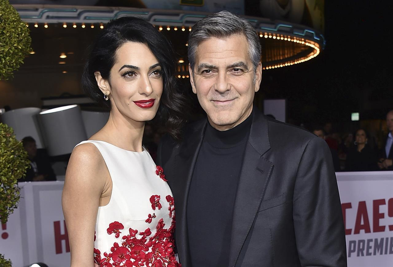 George And Amal Clooney Welcome Twins Ella Alexander