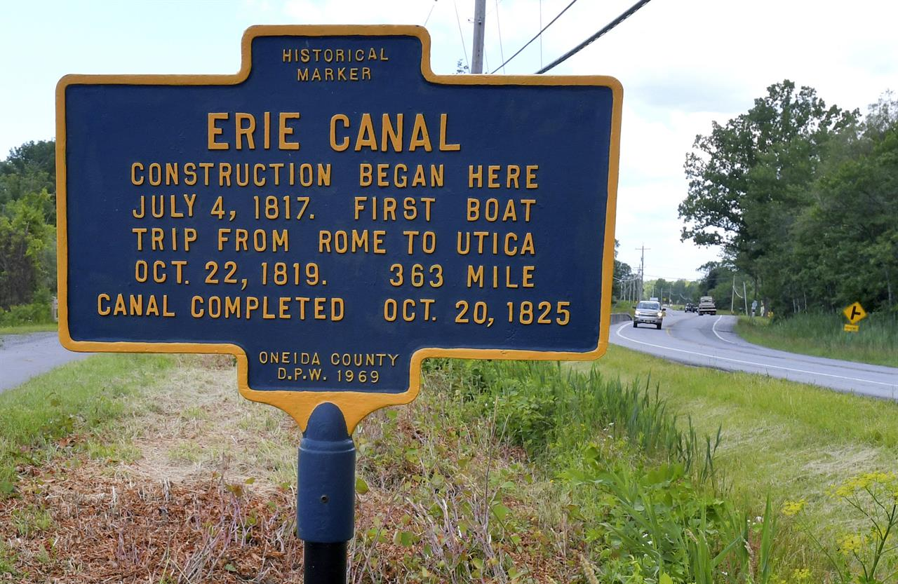 history of the erie canal Definition of erie canal – our online dictionary has erie canal information from uxl encyclopedia of us history dictionary encyclopediacom: english.