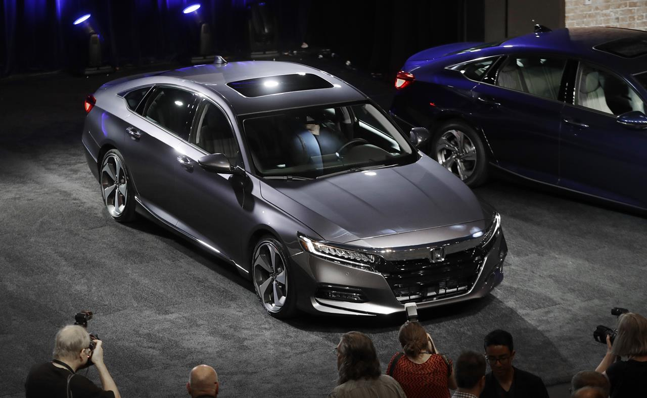 honda unveils new accord as midsize cars fall out of favor am 1190 wafs atlanta ga. Black Bedroom Furniture Sets. Home Design Ideas