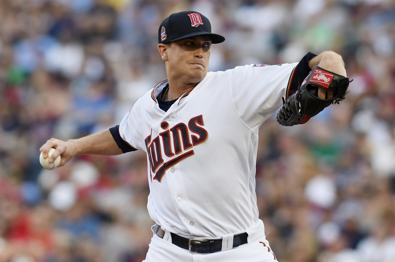 Gibson Starts Strong Twins Hold On To Beat Tigers 6 5