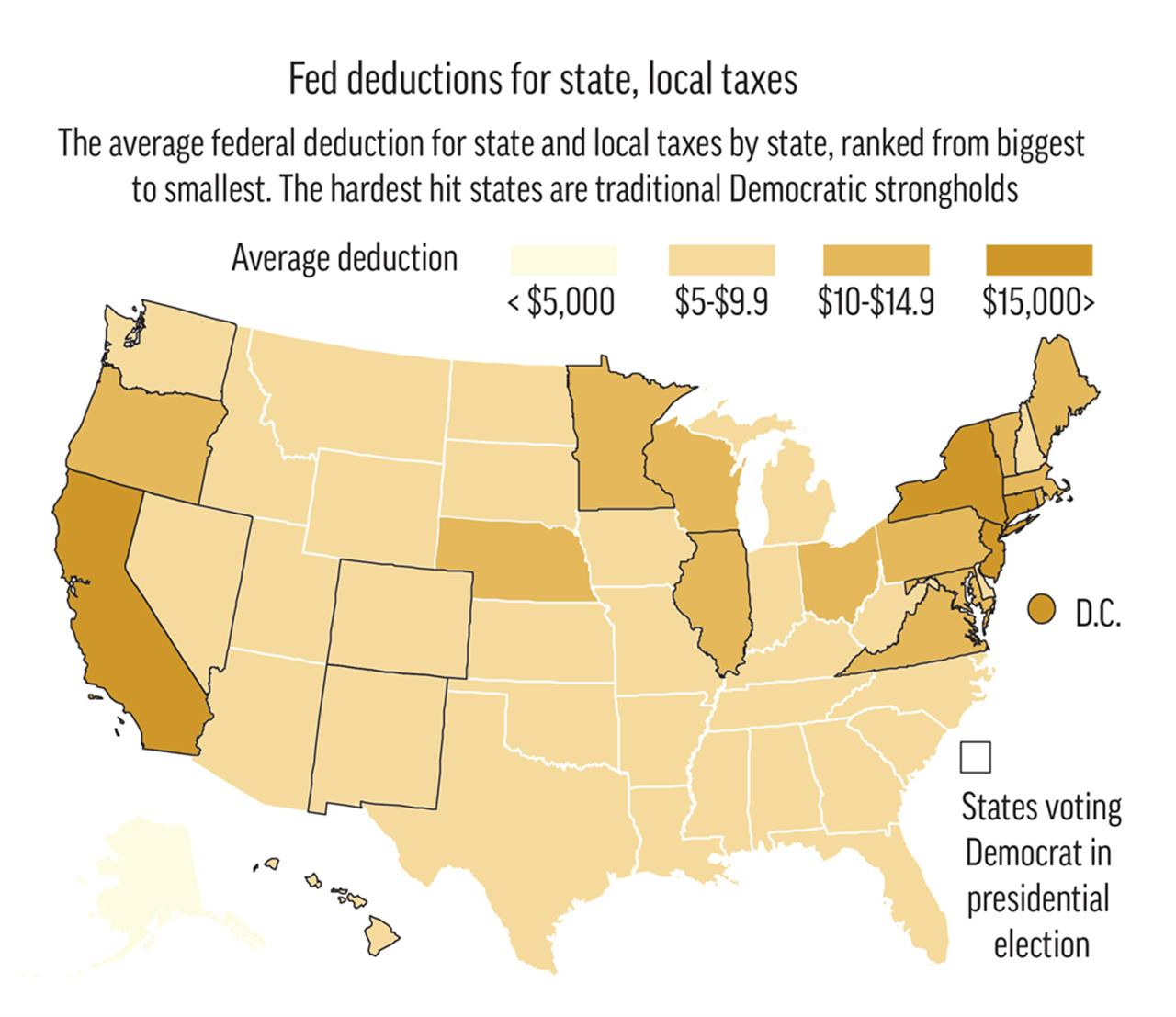 Blue States Like California New York Look To Blunt Tax