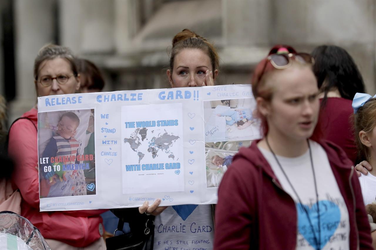 the latest  hearing on charlie gard case to resume