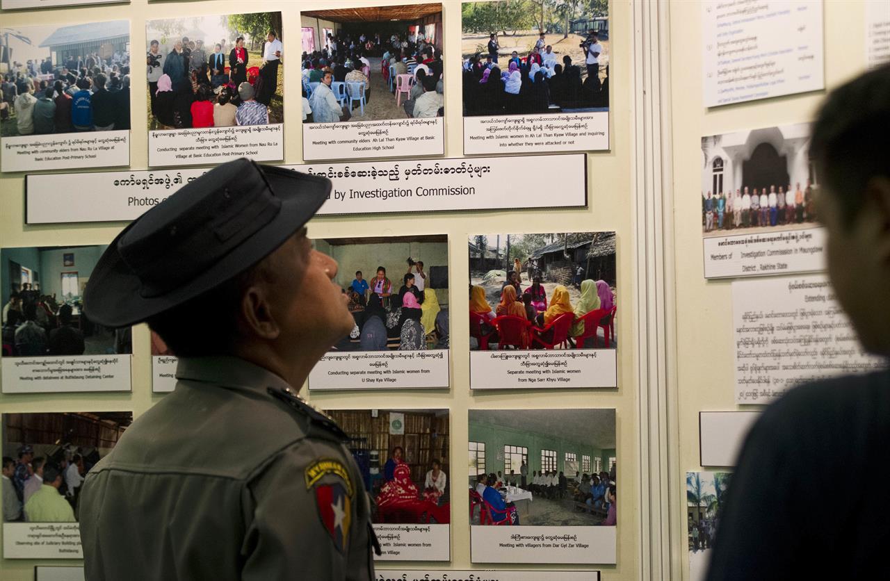 Myanmar Says No Crimes Against Humanity In Rakhine