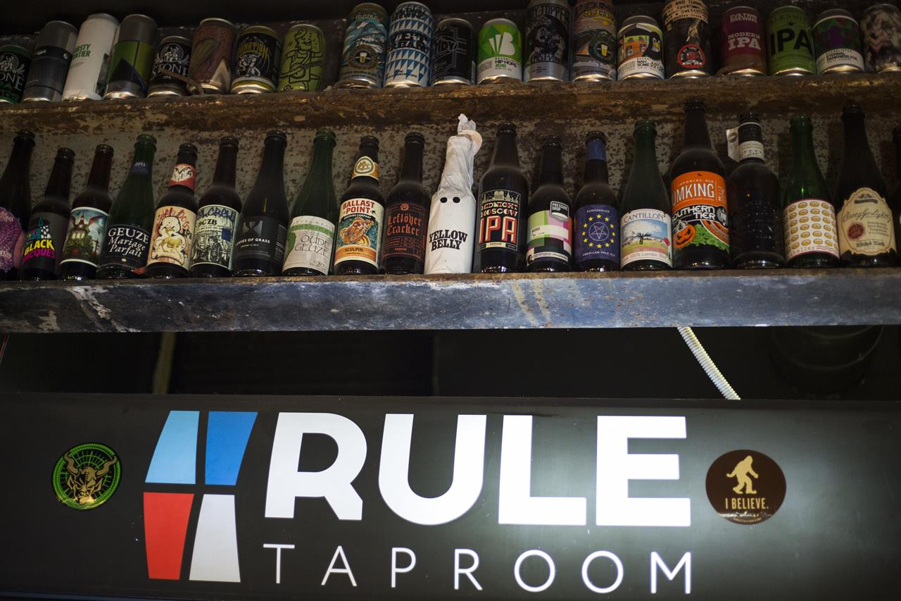 Pint by pint a hoppy revolution is brewing in russia for Craft beer capital of the world