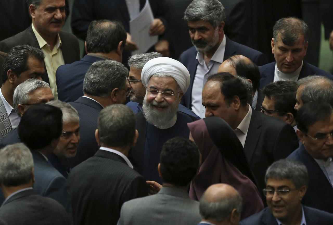 Iran approves nearly all of Rouhani's Cabinet picks | AM 1170 The ...