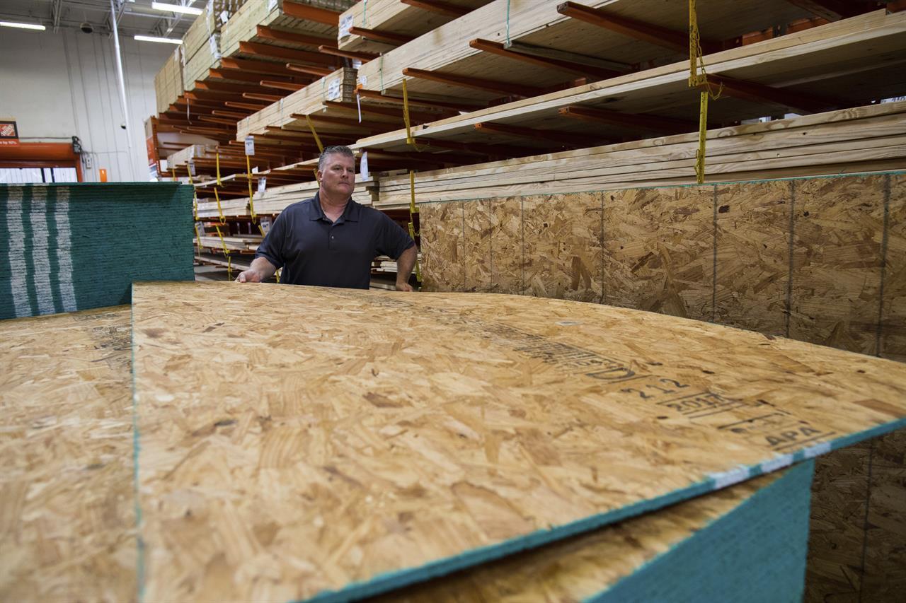 Sandbags Plywood Generators Texas Coast Braces For Harvey Kdow Am San Francisco Ca