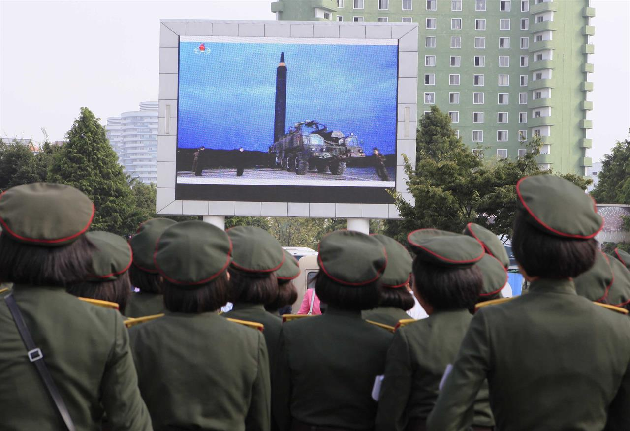 Will North Korea Make Missiles Over Japan The New Normal Am