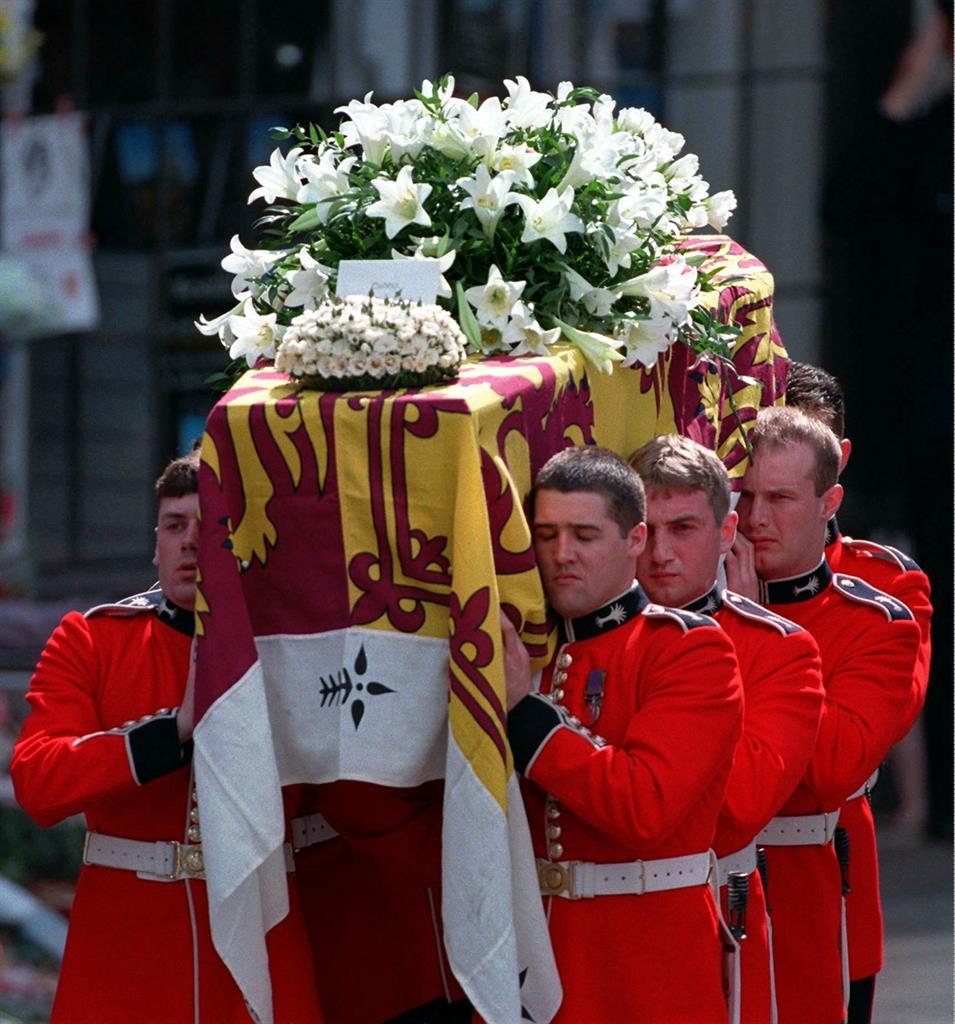 Ap Was There A Sea Of Tears For Princess Diana S Funeral