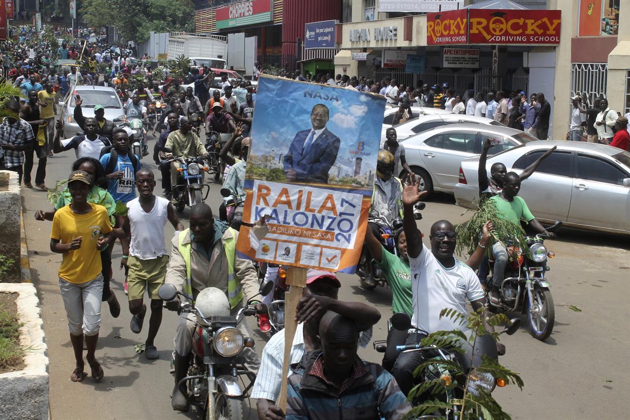 The Latest: Carter Center defends Kenya vote observer work ...
