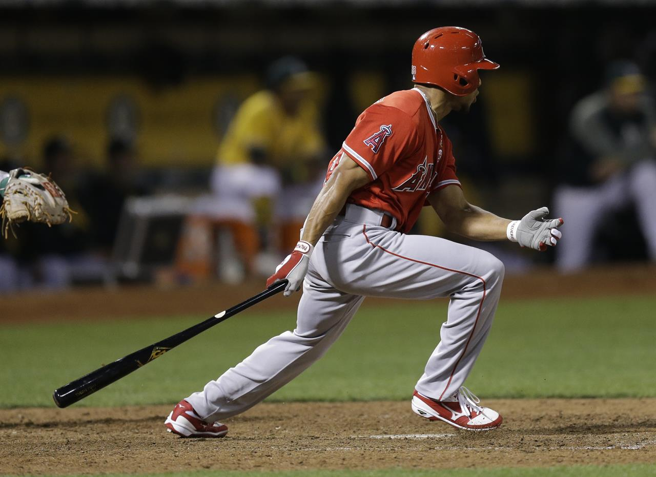 Angels Beat As 8 7 In 10th Take Over 2nd Al Wild Card Spot