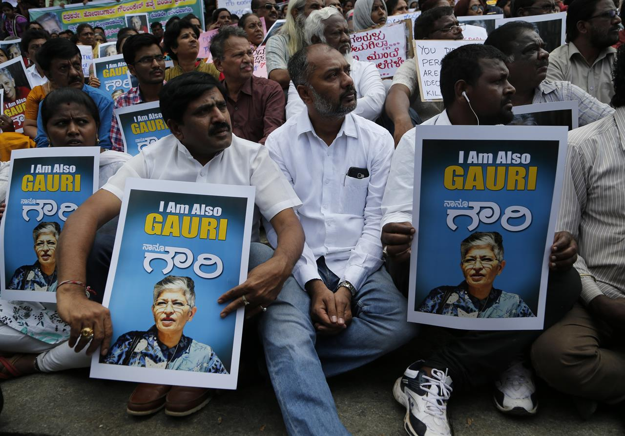 Indian journalist gunned down outside her home | AM 1440