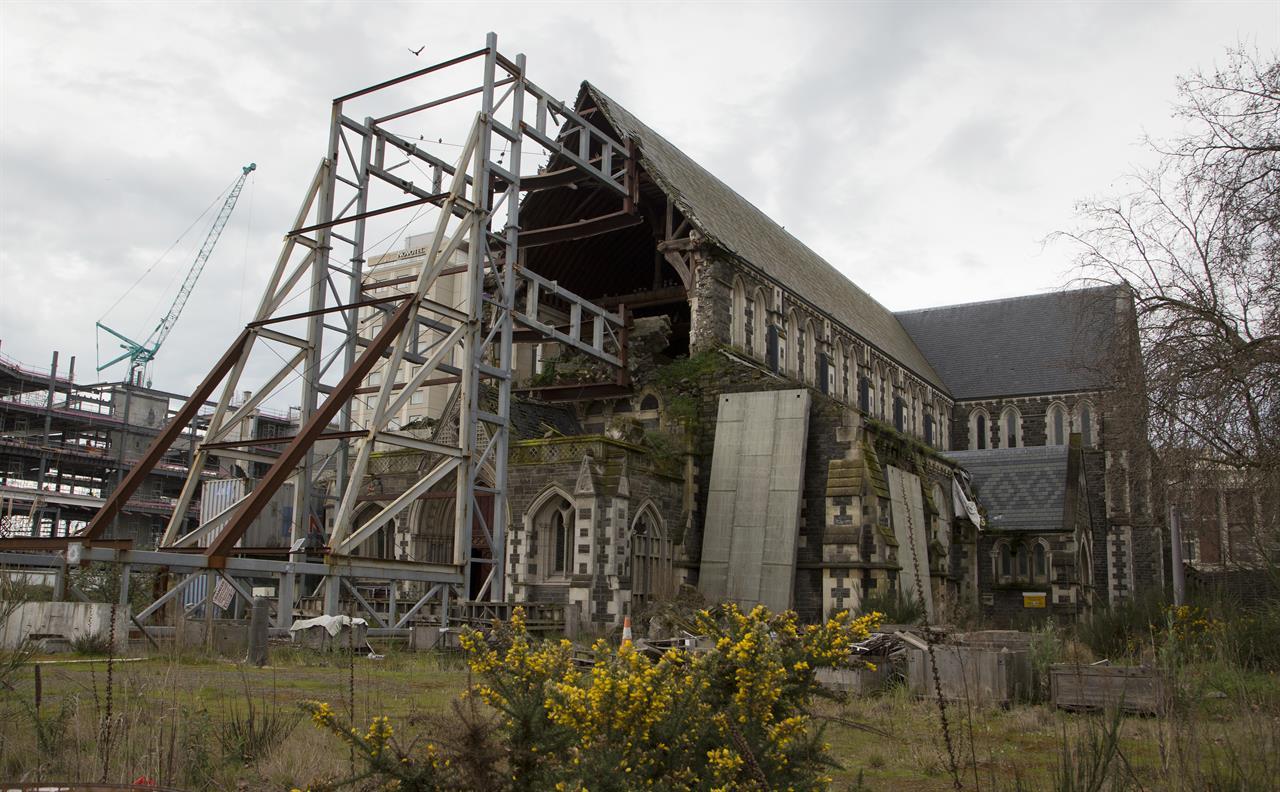 New zealand to rebuild quake damaged christchurch for Home ideas centre christchurch