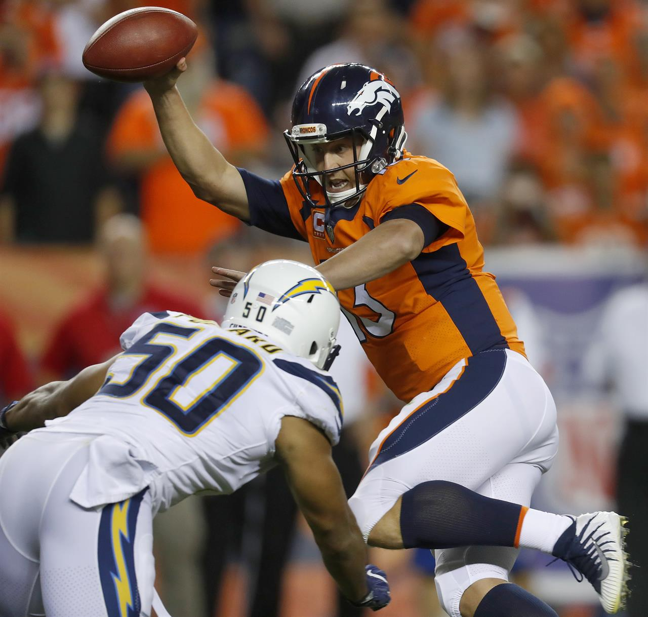 Broncos Realize They Need Better Pass Protection