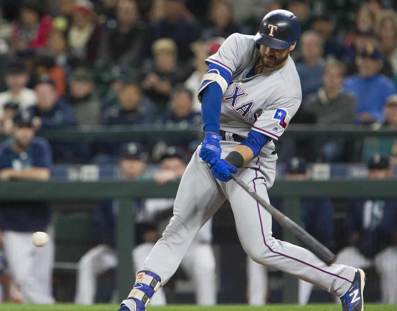 Rangers score twice in 8th inning for 3-1 win over ...