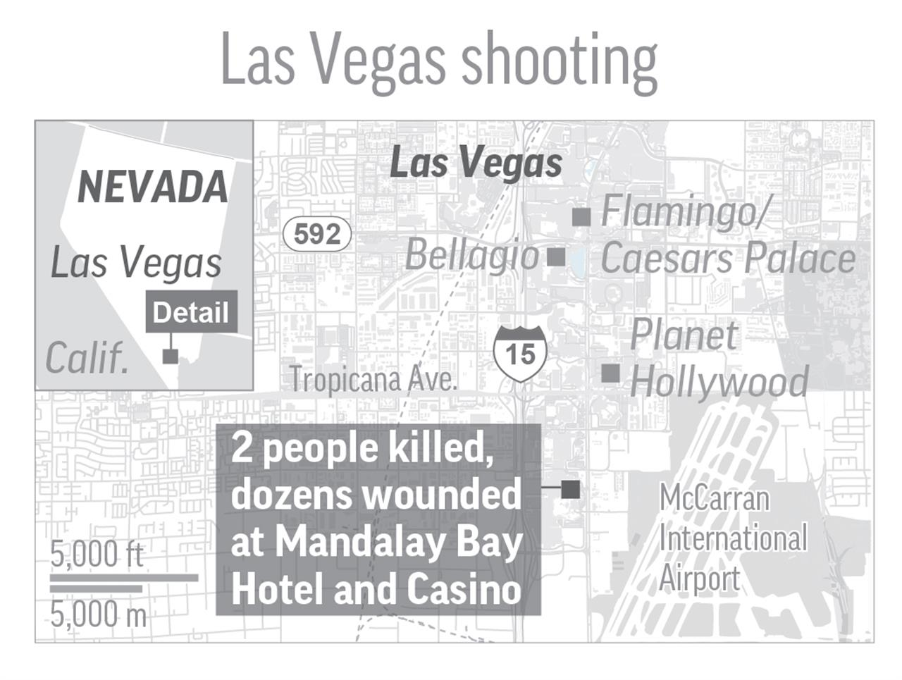 Im Going To Die Fear Grips Vegas Strip Gunman Kills New - Us army strip map
