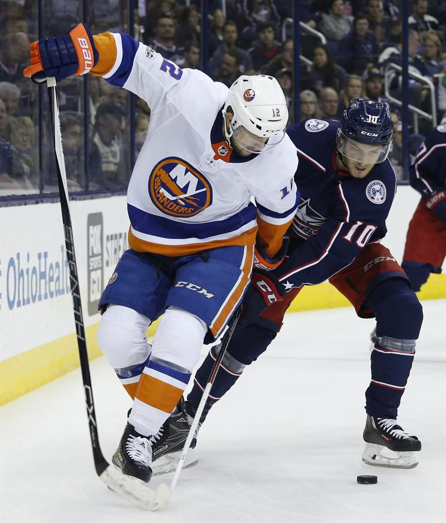 Newcomer Panarin, rookies help Columbus rout Islanders 5-0