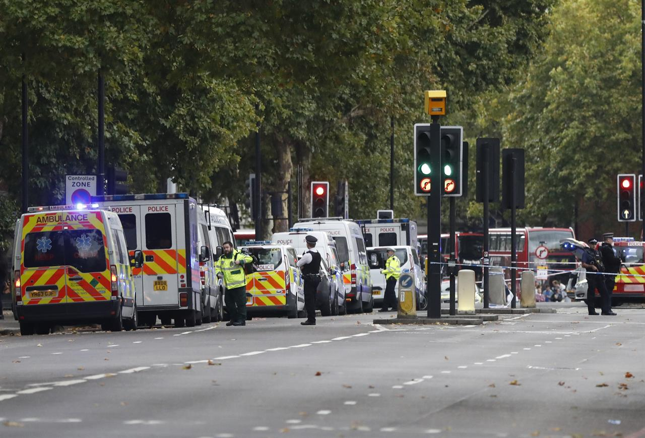 Police: Car crash in London is traffic accident, not terror | AM