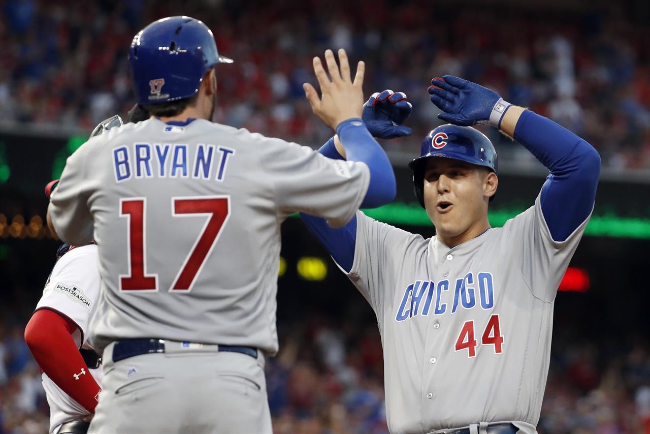 Harper, Zimmerman HRs lift Nats past Cubs 6-3 to even NLDS | AM 1380