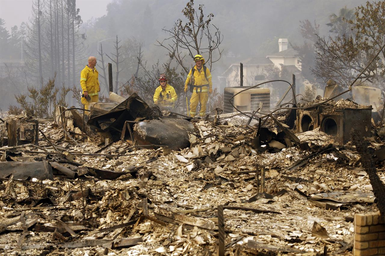 Wildfire Chars California Trailer Park In Blink Of An