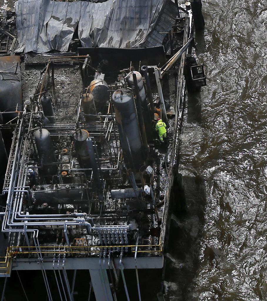 Authorities Suspend Search For Missing Worker After Blast