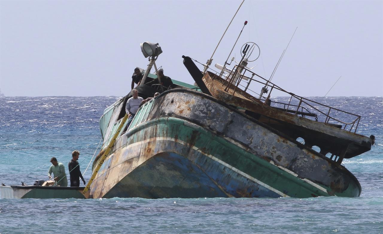 No distress call after fishing boat with foreign crew wrecks | AM