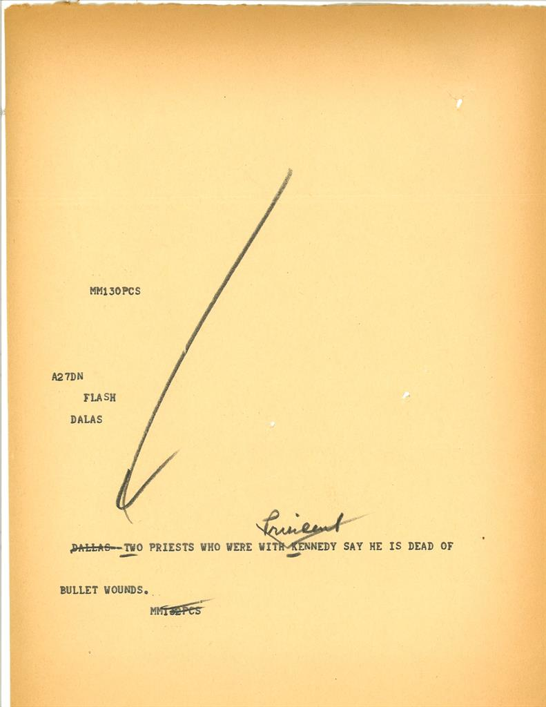 Ap News Wire | Ap Was There The Assassination Of President Kennedy The Answer