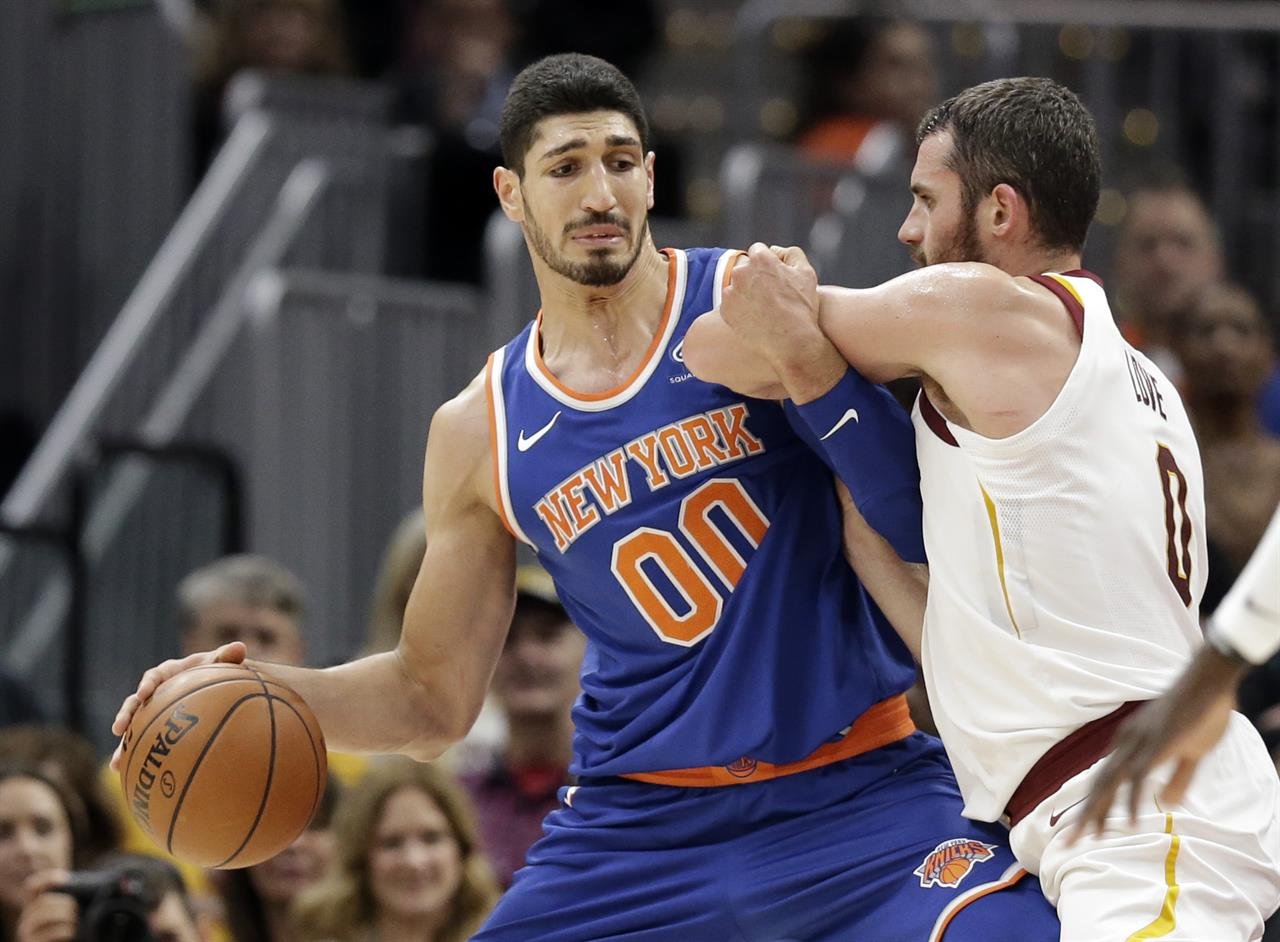 New York Knicks  Enes Kanter 936fa20bb