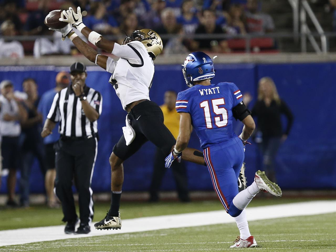 No  15 UCF stays undefeated with 31-24 victory over SMU | AM 970 The