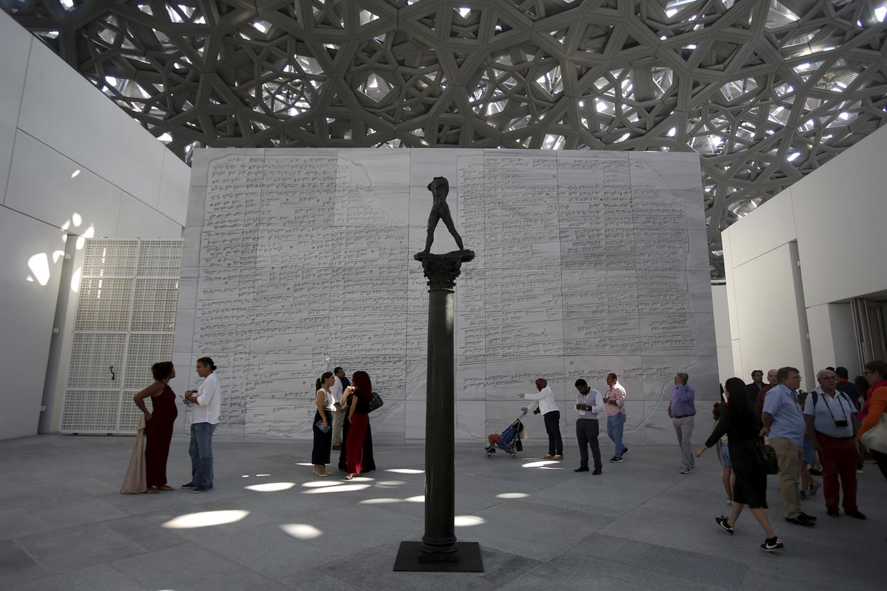 A decade in the making, Louvre Abu Dhabi opens to the public