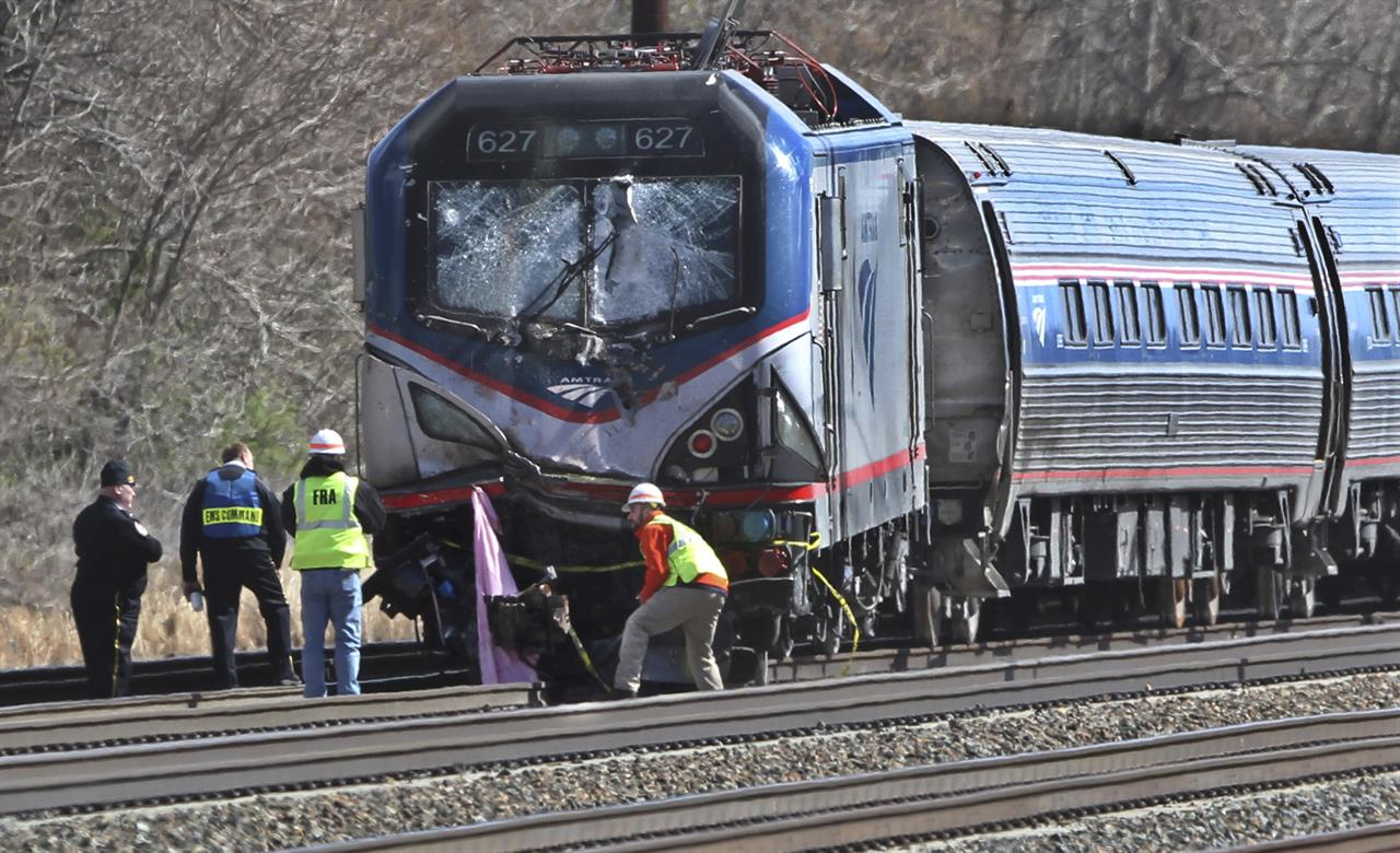 Ntsb Amtraks Lax Safety Led To Crash That Killed 2 Workers 1520