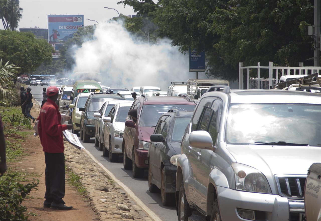 Image result for traffic in kenya