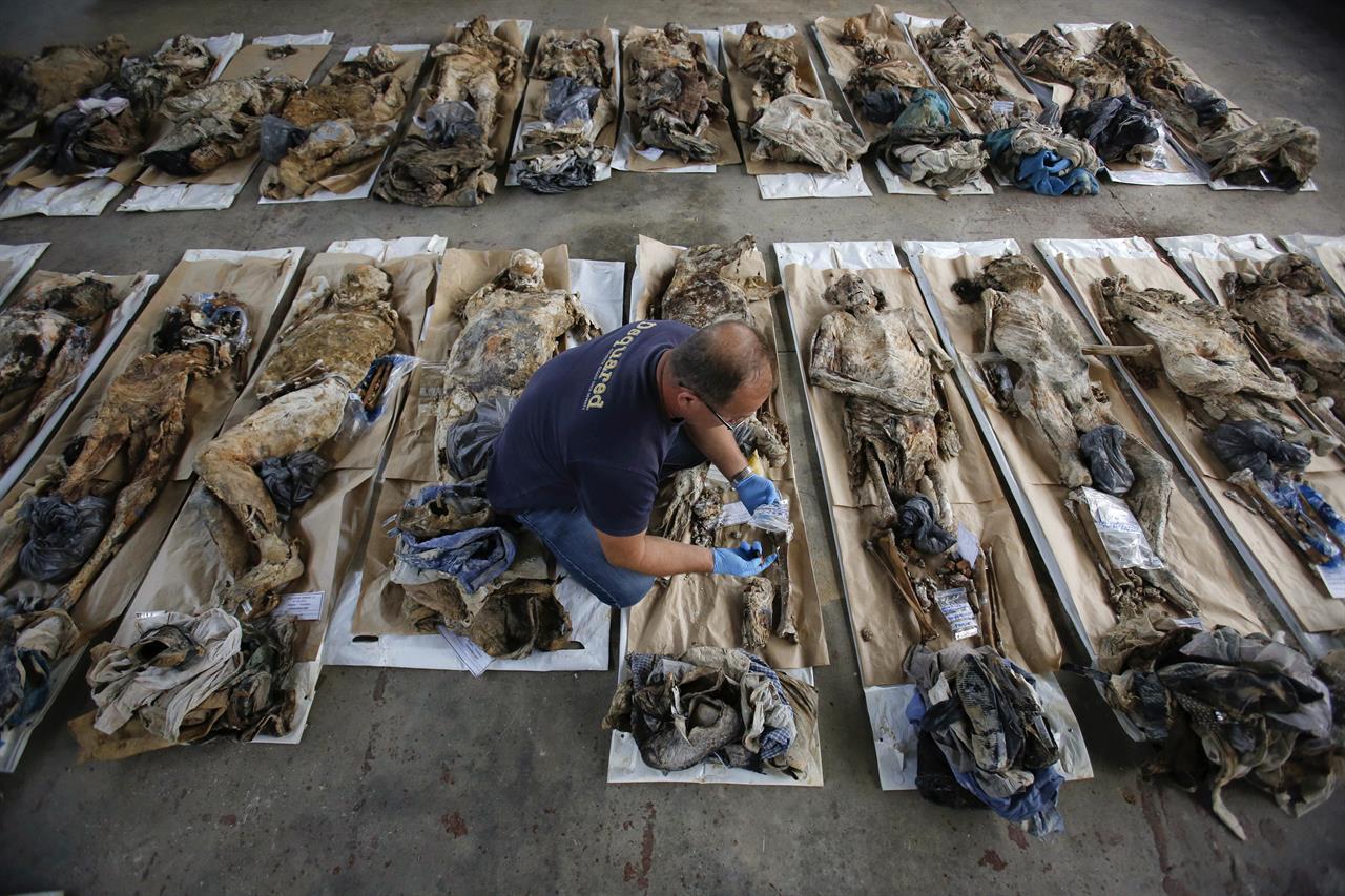 AP PHOTOS: Many Bosnian war victims still unidentified | AM