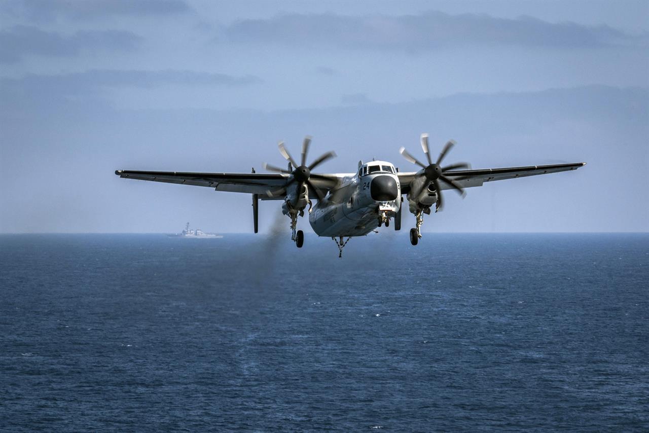 C 2a Greyhound Logistics Aircraft Ships, aircraft search...